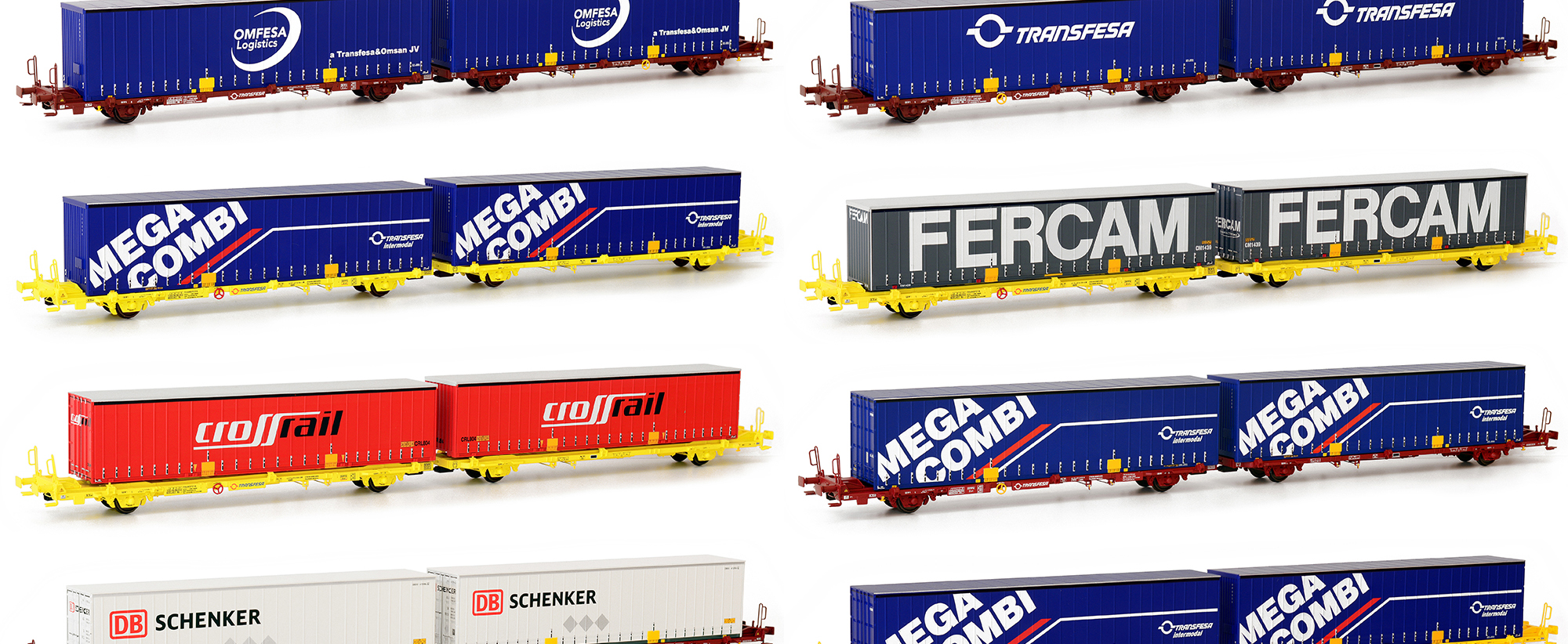 Laagrss wagons and Intermodal Swap Bodies